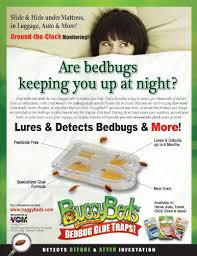 Amazon Bed Bug Trap BuggyBeds Home Glue Traps 4 Pack