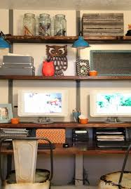 home office wall shelves. Easy Rustic Wall Shelves Tutorial Home Office