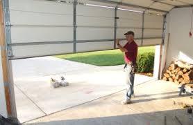 the garage doorHow to Replace Garage Door Torsion Springs