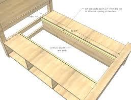 diy bed frame with storage diy bed frame storage