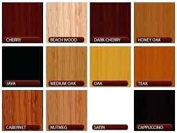 colors of wood furniture. Wood Furniture Colors Different Types Of For  Finish Designs Common W