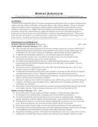 cover letter resume senior quality engineer engineering resumes resume for managerquality assurance manager resume sample extra quality assurance resume example