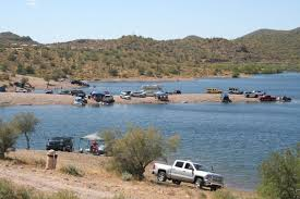 Lake Pleasant Water Level Chart Az Camp Guide Lake Pleasant Shoreline Camping
