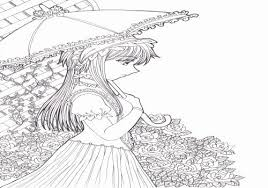 Winter Color Page Fresh Coloring Pages Girls Luxury Winter Girl And