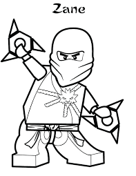 Red Ninjago Coloring Pages Jay Lego Ninja Colouring Kondratovichme