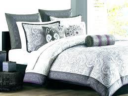 grey comforter sets full echo design bedding purple and grey comforters sets queen full comforter set within lavender