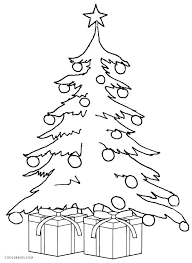 Christmas Tree Coloring Pages For Adults Coloring For Adults