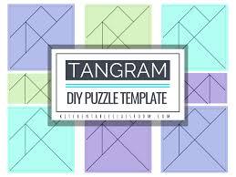 Tangram Designs Printable Printable Tangrams An Easy Diy Tangram Template The