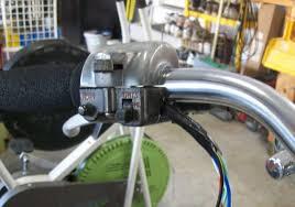 routing handlebar control harness outside of bar kirk