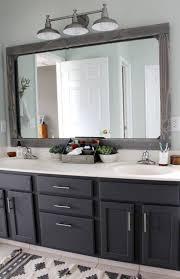 surprising framed bathroom mirror ideas 7 mirrors 1 framed bathroom mirror ideas i85