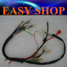 wiring harness quad electric cdi coil wire for zongshen lifan ducar wire loom wiring harness remote switch plug 50 90 110 125cc kazuma lifan