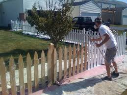 Painted Fences how long should i wait before staining my new wood fence k&c 8093 by xevi.us