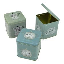 Lime Green Kitchen Canisters Green Tea Coffee Sugar Canisters Coffetable