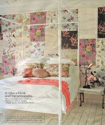 Pretty Bedroom Wallpaper Patchwork Floral Wallpaper Wall Bedroomcottage Vintage
