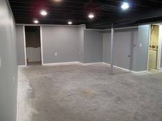 Tip for finishing basements To make ceiling feel higher and still