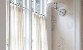 to hang curtains without drilling holes