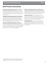 Derakane Epoxy Vinyl Ester Resins Chemical Resistance Guide