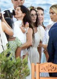 Demi Moore attends goddaughter's ...