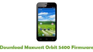 Download Maxwest Orbit 5400 Firmware ...