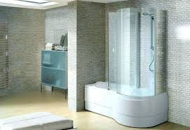 decoration the good small bathtub shower combo photos canada