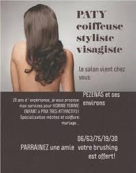 Paty Coiffure à Domicile Pézenas Facebook