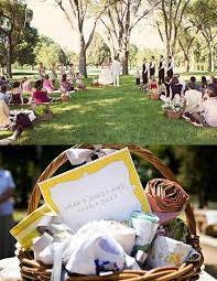 Picnic Wedding  For Decorating