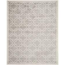 safavieh amherst light grey indoor outdoor rug 12 x 18 amt412b 1218