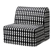 ikea chair bed. Unique Chair IKEA LYCKSELE HVET Chairbed Cover Made Of Durable Cotton With A Geometric  Pattern Inside Ikea Chair Bed D