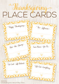 Template For Place Cards Free Free Template For Thanksgiving Place Cards Festival Collections