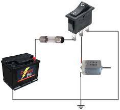 rocker switch circuit