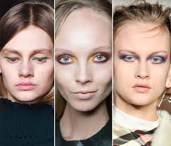 fall winter 2016 2016 makeup trends rainbow eye makeup