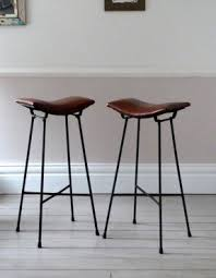Pair of Vintage Cafe Stools  Bar Stools UK