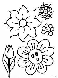 Bloemen Kleurplaten Printen Kleurplaat Vor Kinderen 2019 Intended