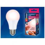 Светодиодная <b>лампа</b> для птиц <b>UNIEL LED</b>-<b>A60</b>-9W-SCEP-E27-FR ...