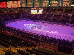 Nassau Veterans Memorial Coliseum Section 109 Seat Views