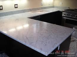 bianco carrara honed marble countertops san francisco