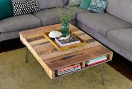 How To Make Coffee Table Out Of Pallet DIY Projects Craft Ideas Pallet Coffee Table