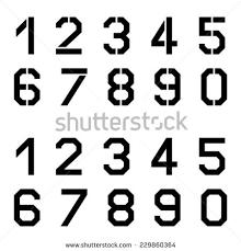 Number Stencil Font Font Numbers Tirevi Fontanacountryinn Com
