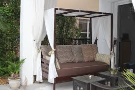 outdoor canopy daybed ana white outdoor canopy daybed diy projects