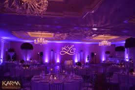 Karma Event Lighting For Weddings And Special Events Purple Lighting For Wedding