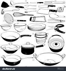 kitchen utensils names. Kitchen Utensils Drawing With Names Elegant Equipment Clipartxtras T