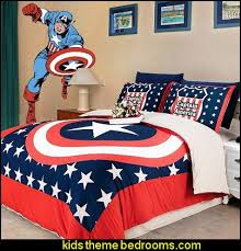 Captain America Bedroom Ideas 2