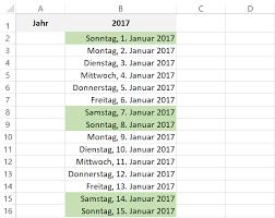 Excel Kalender Ewiger Jahreskalender In Excel Kalender Passt Sich Automatisch An