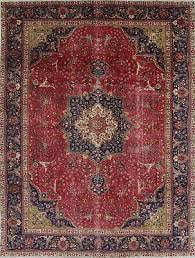 10 x 13 oriental rug hand knotted wool fl persian area rug 12 8