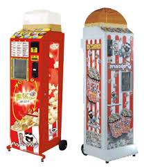 Fully Automatic Popcorn Vending Machines