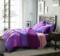 purple cotton duvet cover queen dark purple duvet cover king purple satin solid full queen size