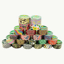 Duct Tape Patterns Delectable Duck Brand Printed Duck Duct Tape Patterns FindTape