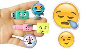 diy emoji back to school supplies polymer clay tutorial