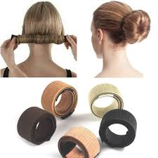 1 Ks ženy Dívky Děti Kouzelné Vlasy Styling Donut Bun Maker Bývalý