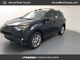 2018 New Toyota RAV4 Platinum FWD at Round Rock Toyota Serving ...